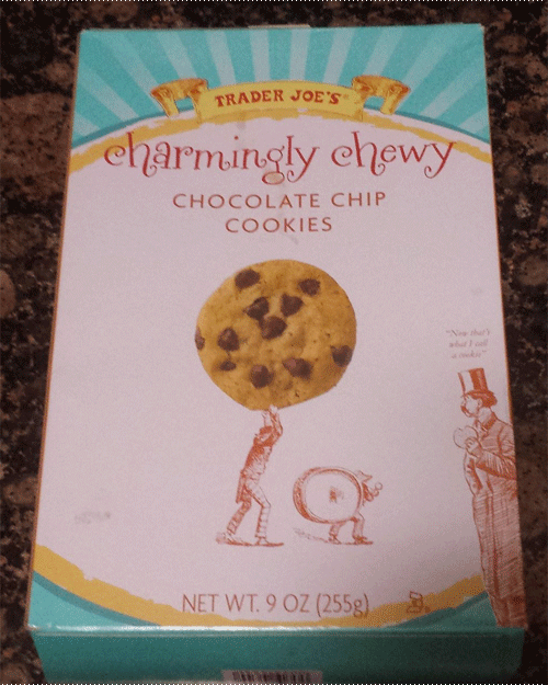 Trader Joe's Charmingly Chewy Chocolate Chip Cookies