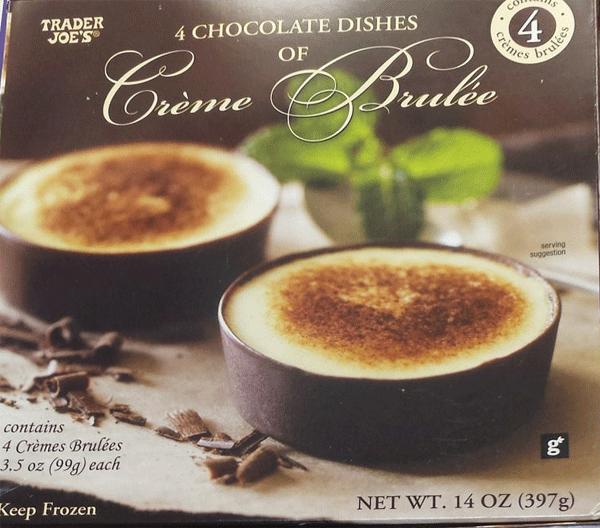 Trader Joe's Creme Brulee Chocolate Dishes Reviews