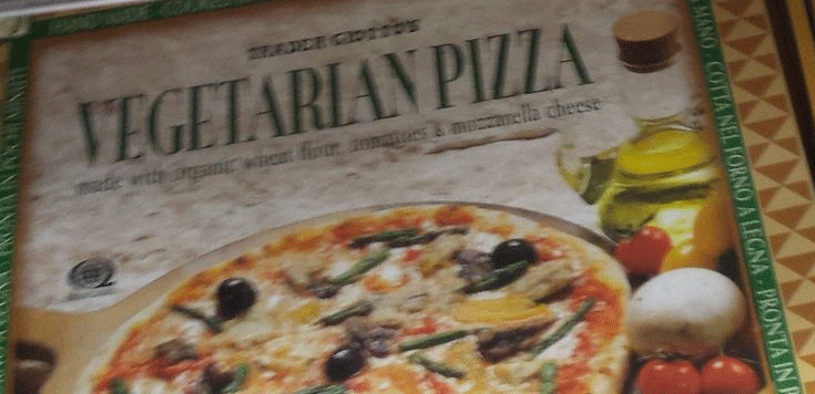 Trader Joe's Vegetarian Pizza