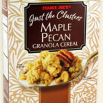 Trader Joe's Just the Clusters Maple Pecan Granola Cereal