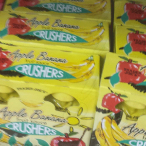 Trader Joe's Apple Banana Crushers