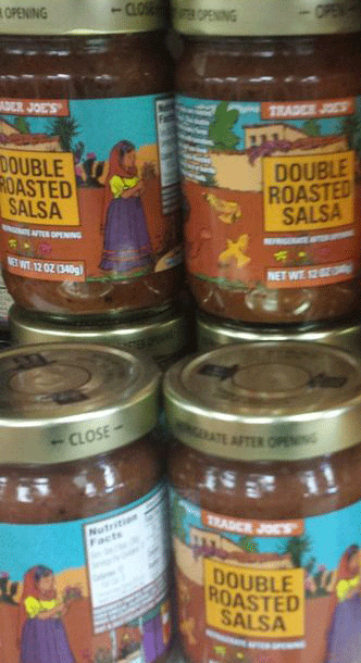 Trader Joe's Double Roasted Salsa