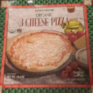 Trader Joe's Organic 3 Cheese Pizza