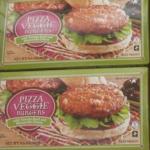 Trader Joe's Pizza Veggie Burgers