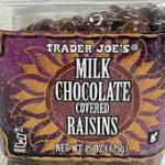 Trader Joe's Milk Chocolate Covered Raisins