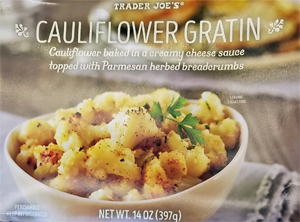 Trader Joe's Cauliflower Gratin