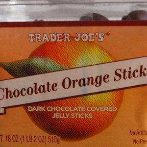 Trader Joe's Chocolate Orange Sticks