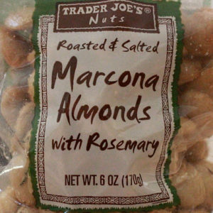 Trader Joe's Marcona Almonds with Rosemary