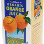 Trader Joe's Organic Orange Juice