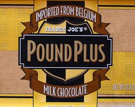 Trader Joe's Pound Plus Milk Chocolate