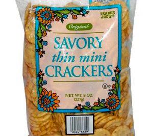Trader Joe's Savory Thin Mini Crackers
