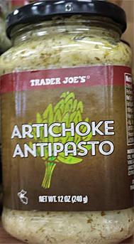 Trader Joe's Artichoke Antipasto