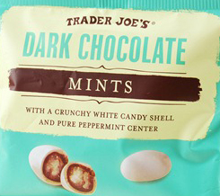 Trader Joe's Dark Chocolate Mints