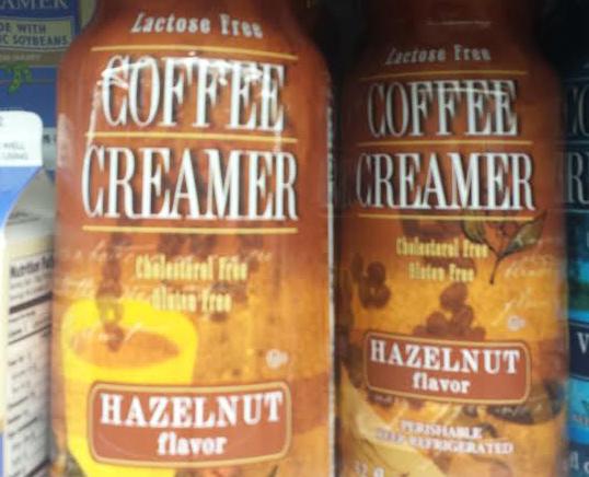 Trader Joe's Hazelnut Coffee Creamer