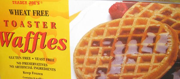 Trader Joe's Wheat Free Toaster Waffles