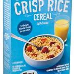 Trader Joe's Crisp Rice Cereal