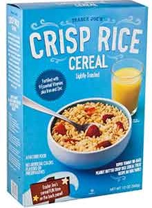 Trader Joe's Crisp Rice Cereal