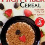 Trader Joe's High Fiber Cereal