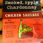 Trader Joe's Smoked Apple Chardonnay Chicken Sausage
