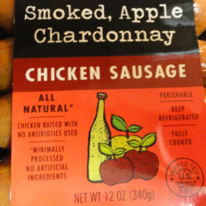 Trader Joe's Smoked Apple Chardonnay Chicken Sausage
