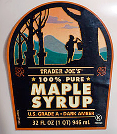 Trader Joe's 100% Pure Maple Syrup