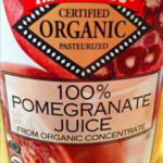 Trader Joe's Organic 100% Pomegranate Juice