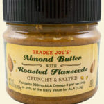 Trader Joe's Almond Butter With Roasted Flaxseeds