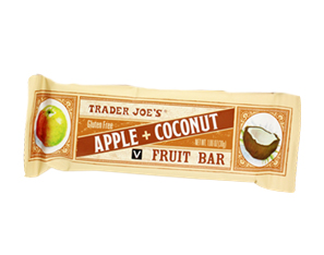 Trader Joe's Apple Coconut Fruit Bar
