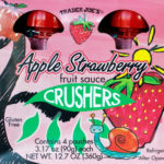 Trader Joe's Apple Strawberry Fruit Sauce Crushers