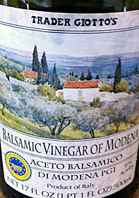 Trader Joe's Balsamic Vinegar