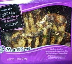 Trader Joe's Grilled Balsamic Vinegar & Rosemary Chicken
