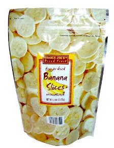 Trader Joe's Freeze Dried Banana Slices