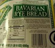 Trader Joe's Bavarian Rye Bread