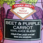 Trader Joe's Beet & Purple Carrot Juice