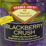 Trader Joe's Blackberry Crush