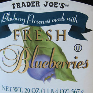 Trader Joe's Blueberry Preserves