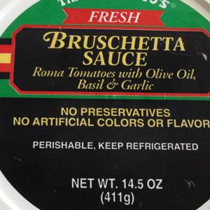 Trader Joe's Bruschetta Sauce