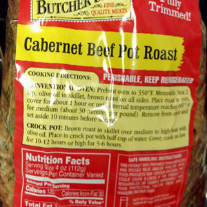 Trader Joe's Cabernet Beef Pot Roast
