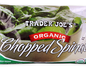 Trader Joe's Chopped Spinach