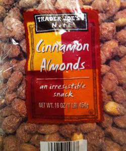 Trader Joe's Cinnamon Almonds