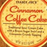 Trader Joe's Cinnamon Coffee Cake