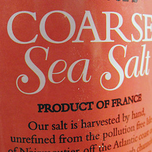 Trader Joe's Coarse Sea Salt