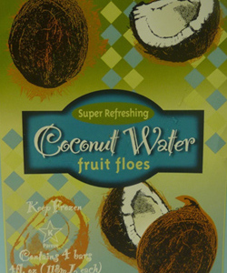 Trader Joe's Coconut Water Fruit Floes