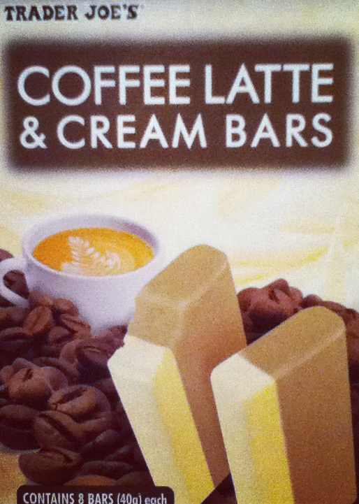 Trader Joe's Coffee Latte & Cream Bars
