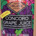 Trader Joe's Organic Concord Grape Juice