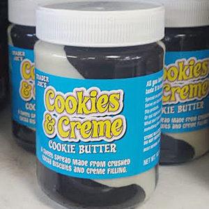 Trader Joe's Cookies & Creme Cookie Butter