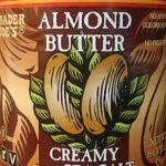 Trader Joe's Creamy Almond Butter With Sea Salt