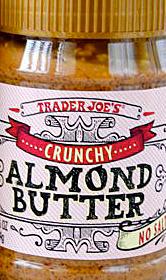 Trader Joe's Crunchy Almond Butter