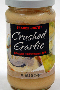 Trader Joe's Crushed Garlic