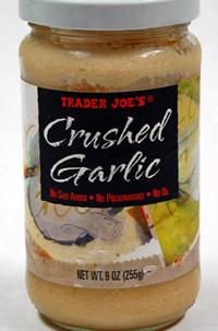 Trader Joe's Crushed Garlic